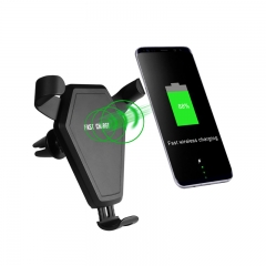 Qi Fast Wireless Charging Car Mount