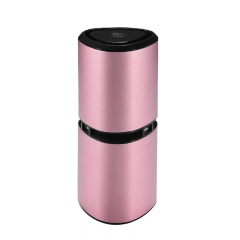 Mini Car Air metal Purifier with USB charger