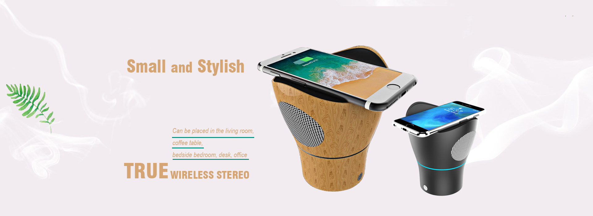 wireless charger with bluetooth speaker