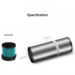 aluminum alloy car air purifier