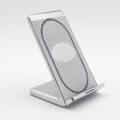 Cooling Fan Qi Fast Wireless Charger Stand Pad